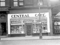 Central Cafe Chip Shop Saltmarket. Still trading today