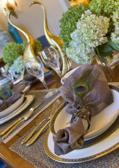tablescape ...love for the dining room