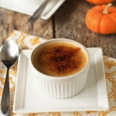 Pumpkin Spice Creme Brulee: The kick-off post for our virtual Holiday Recipe Exchange! Enter and win some amazing swag from Beanilla.