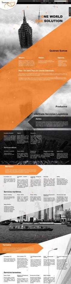 Nuestro más reciente desarrollo web con nuevas tecnologías y diseños... visítenla! http://www.intertrade.la/ http://estudio-web-mexico.com/portafolio-diseno-web.  Diseños pensados para ser visto desde cualquier dispositivo de escritorio y móvil