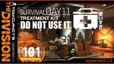 【PS4でDivisionディビジョン Patch1.5】SURVIVAL DAY11 サバイバル!治療キットは大事に使いましょう。