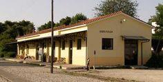 Old railway station of Amaliada Ilia Peloponnese Garage Doors, Memories, Outdoor Decor, Home Decor, Iron, Homemade Home Decor, Souvenirs, Decoration Home, Remember This
