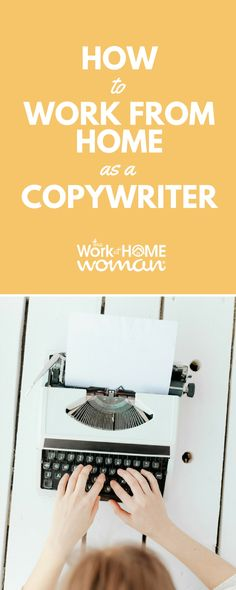 Do you have a way with words? Are you highly persuasive? Here's a step-by-step blueprint on how to work from home as an advertising copywriter! #copywriting #copywriter #workfromhome