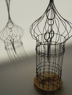 Jill Walker; cage for clipped wings