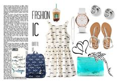 """""""Shark Attack!"""" by angelstar92 ❤ liked on Polyvore"""