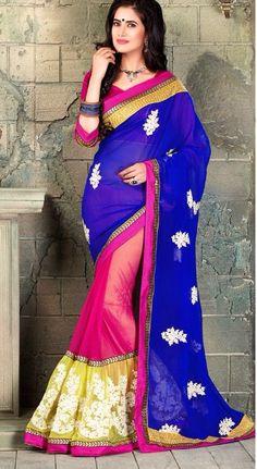 lehnga style saree collection