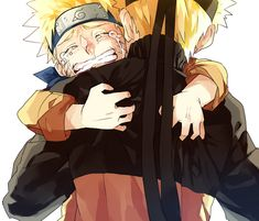 Right in the feels.  If young Naruto could only see what his future looked like, he wouldn't have to be so lonely and angry at the world. #naruto