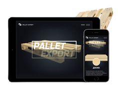Strona internetowa z wykorzystaniem 3D grafiki dla firmy Pallet Export http://wezom.pl/services/katalog_towarow_lub_uslug