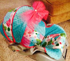 Hey, I found this really awesome Etsy listing at http://www.etsy.com/listing/174796767/baby-girl-carseat-cover