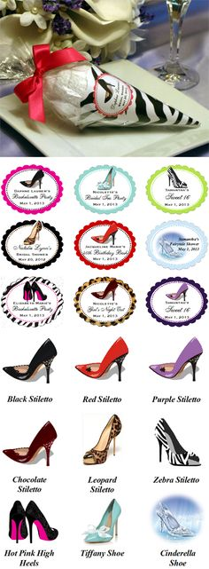 shoe party ideas | ... shoe fashionista with our trendy stiletto high heel shoe ice cream