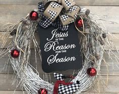 Creating Beauty in the Celebration of Life by CelebrationsDesignCo Custom Christmas Ornaments, Plaid Christmas, Xmas Messages, Wreath Boxes, Diy Crafts Vintage, Natural Christmas, Christian Christmas, Xmas Wreaths, Valentine Wreath
