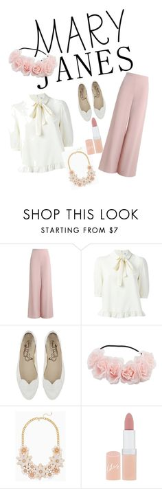 """Sweet Mary Jeanes"" by fashionvivy on Polyvore featuring Zimmermann and Rimmel"
