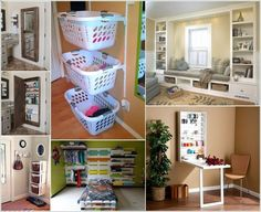 If any room or a space in your home needs storage and you are tight on space then think about the walls. There are loads of different ways to boost storage of a space by creating a wall mounted organization solution. So, take a look at the ideas we have brought for your inspiration: [...]