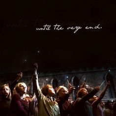 Until The Very End Harry Potter