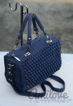 "crochet ""ergahandmade: Crochet Bag + Diagram + Step By Step Tutorials"", ""Red Bobble Stitch Ha Red Bobble Stitch Hand Bag by Indri Safitri"", ""Crochet Free Crochet Bag, Bead Crochet, Crochet Baby, Crochet Handbags, Crochet Purses, Bobble Stitch, Blue Handbags, Cheap Bags, Knitted Bags"