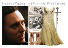 """Imagine Saving Loki From His Punishment"" by fandomimagineshere ❤ liked on Polyvore featuring Tabitha Simmons, women's clothing, women's fashion, women, female, woman, misses and juniors"