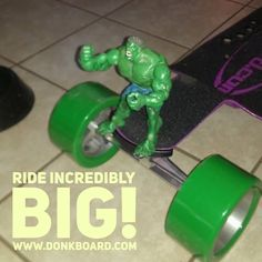 #AlwaysDoItBIG!  www.DonkBoard.com  #hulk #muscles #workout #exercise #play60 #fitnation