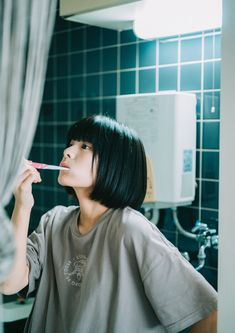 Pose Reference Photo, Art Reference Poses, Aesthetic People, Aesthetic Girl, Photoshoot Concept, Japanese Photography, Human Poses, Japanese Aesthetic, Girl Short Hair