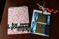 Sherry's Stamped Treasures: Mini Treat Bag Thinlit by Stampin' Up!