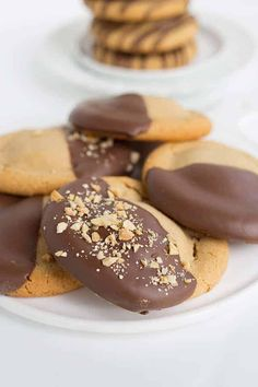 Reese's Stuffed Peanut Butter Cookies that are dipped in chocolate and sprinkled with peanuts are the only cookies I need in my life. They are giant cookies, fully loaded with peanut butter, and have a full-size Reese's cup in the center. What's not to love? Reese's Stuffed Peanut Butter Cups If you've been around awhile, …