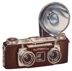 Kodak Stereo Camera.1956