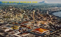 1962 Seattle World's Fair postcard