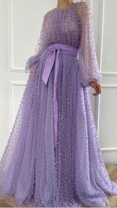 Purple Evening Dress, Purple Dress, Chiffon Evening Dresses, Evening Gowns, Beaded Prom Dress, Beaded Gown, Dress Lace, Bridesmaid Dresses, Prom Dresses