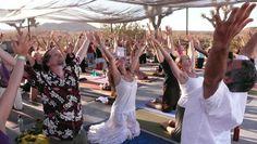 interesting yoga practitioner
