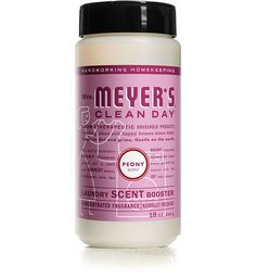 Bring loads of joy to laundry day. New Mrs. Meyer's Clean Day Peony Laundry Scent Boosters pop some home-grown inspiration straight into your washer.