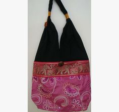 Hobo Bag with sequins Style A