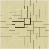 stone dg tile layout patterns - Bathroom Tile Layout Designs
