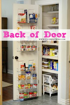 container store in my kitchen lots of great ideas organizing - Kitchen Pantry Door Ideas
