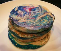 [OC] Galaxy Pancakes #recipes #food #cooking #delicious #foodie #foodrecipes #cook #recipe #health