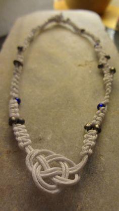 Macrame necklace!
