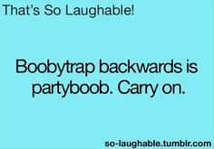 party boob heh heh