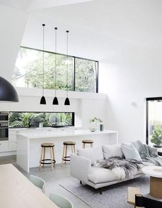 Best Scandinavian Home Design Ideas. 57 Trending Interior Modern Style Ideas For Your Perfect Home This Summer – Cosy Interior. Best Scandinavian Home Design Ideas. Modern Interior Design, Interior Design Kitchen, Interior Design Inspiration, Home Decor Inspiration, Interior Architecture, Decor Ideas, Interior Ideas, Decorating Ideas, Minimalist Interior