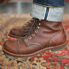 """selvedge1: """"Day 42 of #365daysofraw . Can't beat the combo of denim 'n boots. Amirite? . """""""