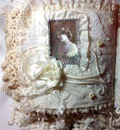 lace fabric journaling