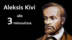 Kuvahaun tulos haulle aleksis kivi 3 min Finnish Language, Primary English, Helsinki, Kids Learning, Literature, Culture, Teaching, Education, History