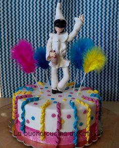 Katty's cakes - Le torte di Katty : Torta Pulcinella - Pulcinella cake