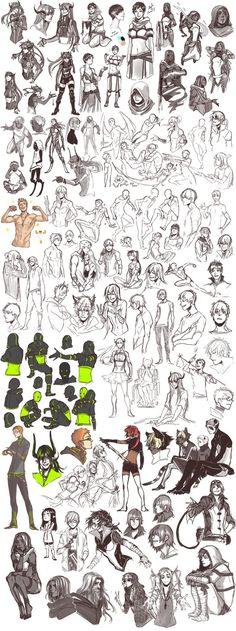 Sketch dump 32 by Namonn on DeviantArt