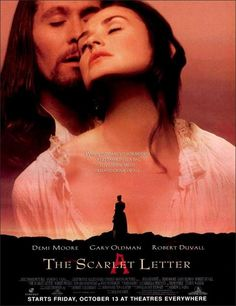 The Scarlet Letter Movie Poster (1995)