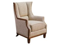 Shop For Uttermost Burbank Tweed Wing Chair, 23613, And Other Living Room  Chairs At