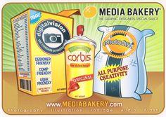 media bakery postcard