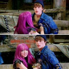 Descendants Mal And Ben, Dove Cameron Descendants, Disney Channel Descendants, Descendants Cast, Disney Original Movies, Best Disney Movies, Disney Channel Movies, Rotten To The Core, Really Good Movies