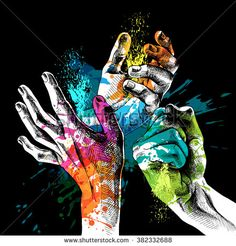 Find Festival Holi Poster Hands Bright Paint stock images in HD and millions of other royalty-free stock photos, illustrations and vectors in the Shutterstock collection. Thousands of new, high-quality pictures added every day. Holi Painting, Watercolor Painting, Illustration Art Dessin, Illustrations, Holi Poster, Festival Paint, Holi Images, Bright Paintings, Happy Holi