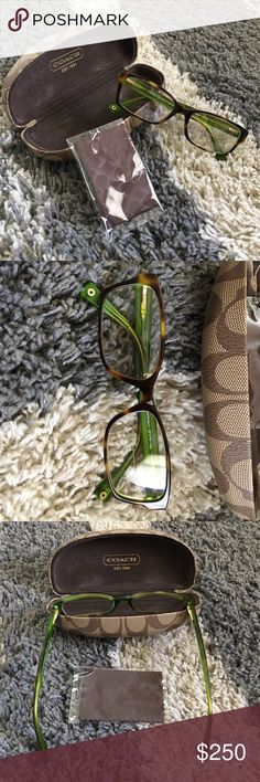 0640c4259f Coach - Glasses Frame New - Used maybe 2x - Case Cleaning cloth included -