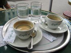 Espresso at Cafe Flore
