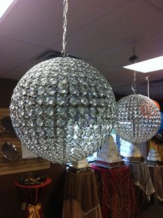 Small Chandelier Crystal Globe