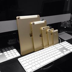In gold 
